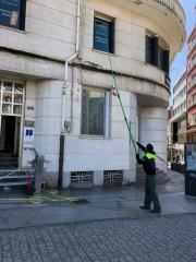 Trabajos en altura - Limpiezas Limbes
